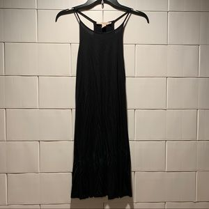 FLOWY FOREVER 21 BLACK CONTEMPORARY DRESS